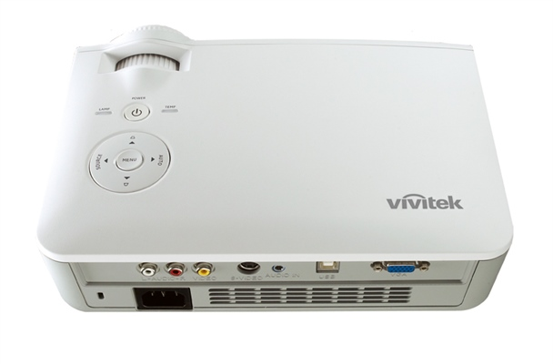 Vivitek D530  Back Low